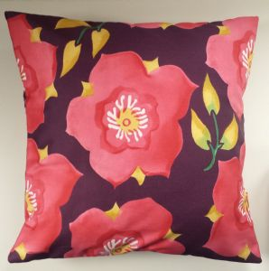 Cushion Cover in Emma Bridgewater Hellebore 16""
